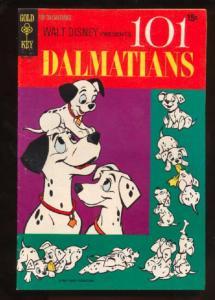 101 Dalmations #1, Fine+ (Actual scan)