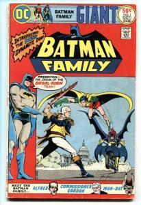 Batman Family #1 1975-DC Giant Comic-BATGIRL-NEAL ADAMS vg
