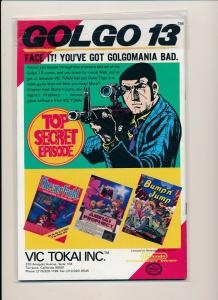 Lead Comics GOLGO 13, #1 The Impossible Hit! Takao Saito 1989 ~  VF/NM (PF555)