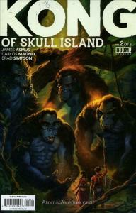 Kong of Skull Island #2 VF/NM; Boom! | save on shipping - details inside