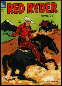 Red Ryder Comics #118 1953- Fred Harman art Western VF