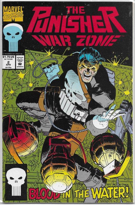 Punisher  : War Zone   vol. 1   # 2 VF
