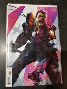 Deathstroke #38 DC Universe Comics Francesco Mattina Variant Cover