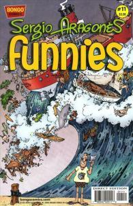 Sergio Aragonés Funnies #11 VF/NM; Bongo | save on shipping - details inside