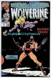 MARVEL COMICS PRESENTS #53, NM+, Wolverine, Len Wein, Bill Mumy, Black Widow