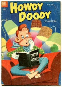 Howdy Doody #21 1953-Dell comics- Ghost Stories cover VG-
