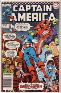 Captain America   vol. 1   #289 VG