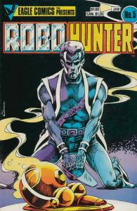 Robo-Hunter #5 VG; Eagle | low grade comic - save on shipping - details inside