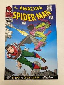 Spider-Man #39 Green Goblin Marvel Comics poster by John Romita