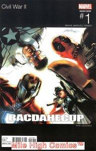 CIVIL WAR II (2016 Series) #1 HIP HOP Very Fine Comics Book