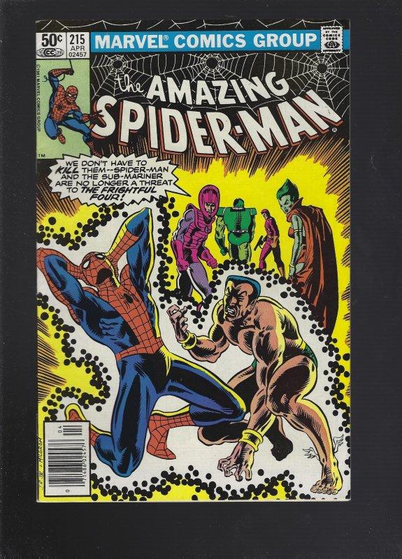 The Amazing Spider-Man #215 (1981)