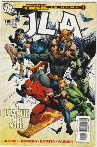 7 JLA DC Comic Books # 119 120 121 122 123 124 125 Superman Batman Flash LH22