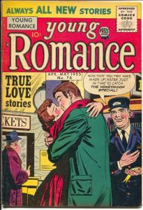 Young Romance #76 1955-Prize cool stories-higher grade-FN/VF