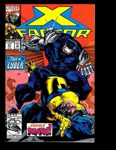 Lot Of 12 X-Factor Marvel Comics 81 82 83 84 85 86 87 88 89 90 91 92 X-Men JF19