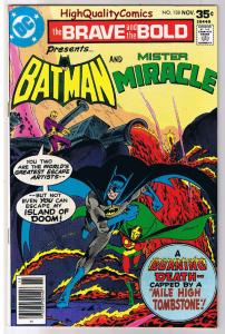 BRAVE and the BOLD #138, VF+, Batman, Mr Miracle,1955, more in store