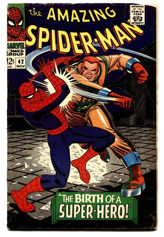 AMAZING SPIDER-MAN #42 comic book -First time MARY JANE is shown!-KEY ISSUE!