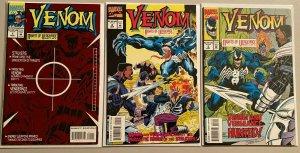 Venom nights of vengeance run:#1-3 7.0 FN/VF (1994)
