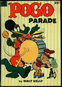 Pogo Parade #1 1953- Walt Kelly- Dell Giant VG