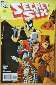 Secret Six #3 (2009) Gail Simone !!!
