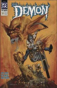 DC THE DEMON (1990 Series) #12 VF