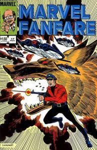 Marvel Fanfare (1982 series) #17, VF (Stock photo)
