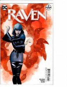 Raven (2016) #2 of 6 NM- (9.2) Alternate Cover