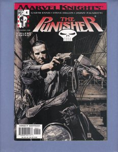 Punisher #4 NM- Marvel Knights 2001