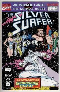 SILVER SURFER #4 Annual, NM, Guardians of the Galaxy, Korvac Quest,more in store