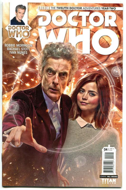 DOCTOR WHO #4 B, NM, 12th, Tardis, 2016, Titan, 1st, more DW in store, Sci-fi