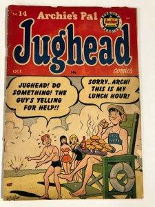 ARCHIES PAL JUGHEAD 14 FAIR  OCTOBER 1952