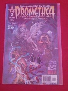 Promethea # 2,  Alan Moore, The Hit From Hell America's Best Comics Wildstorm NM
