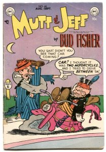 Mutt and Jeff #65 1953- BUD FISHER- Golden Age VG-