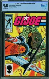 G.I. Joe #28 (Marvel, 1984) CBCS 9.8