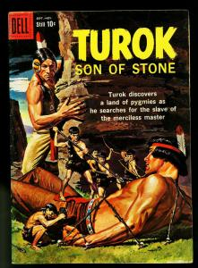 Turok Son of Stone #17 1959- Dell Comics- Indians & Dinosaurs- VF-