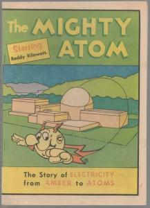 MIGHTY  ATOM NN VF 1976 starring Reddy Kilowatt