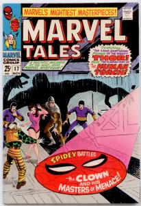 Marvel Tales #17 FN+ 6.5 reprint Amazing Spider-Man #22, Human Torch, Thor
