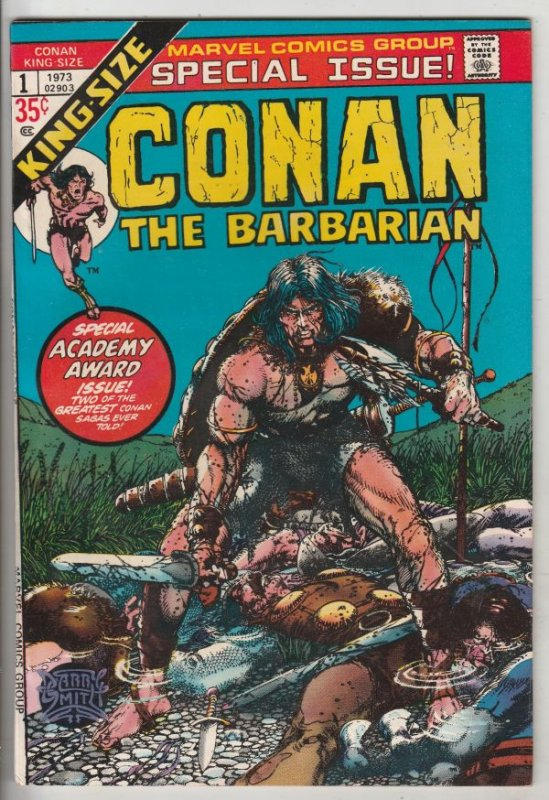 Conan the Barbarian King-Size #1 (Jan-73) NM/NM- High-Grade Conan the Barbarian