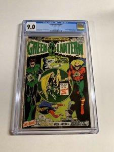Green Lantern #88 CGC graded 9.0