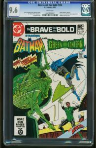 Brave and the Bold #174 -CGC GRADED 9.6-Batman-Green Lantern 0207676007