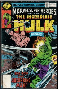 Marvel Super-Heroes #77 (Marvel, 1978)