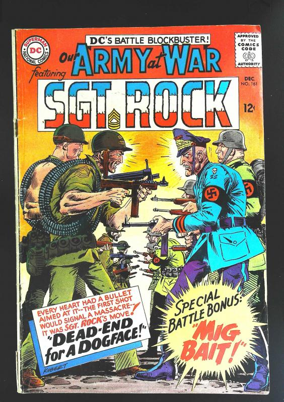 Our Army at War (1952 series) #161, VG+ (Actual scan)