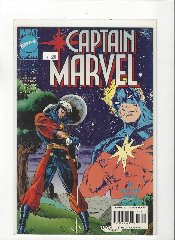 Captain Marvel #2 (1995) Marvel Comics NM