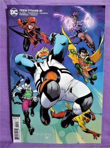 Adam Glass TEEN TITANS #41 Khary Randolph Variant Cover (DC, 2020)!