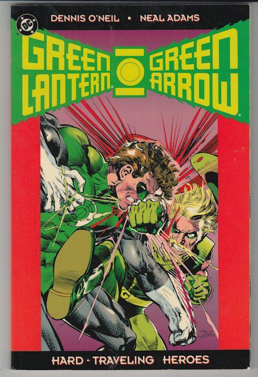 Green Lantern : Hard Traveling Heroes Dennis O'Neil (1993) Graphic Novel #1