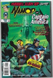 Marvel Team-Up   vol. 2   # 9 VF Namor, Captain America