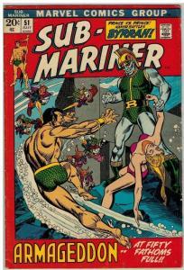 SUB MARINER 51 F July 1972