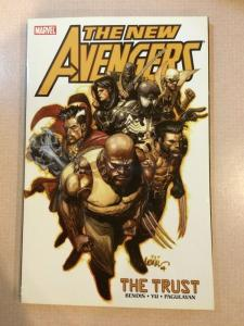 The New Avengers Vol 7 The Trust Bendis Yu Tpb