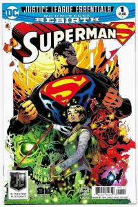 Justice League Essentials Superman Rebirth #1 (DC, 2017) NM