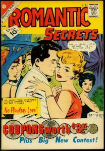 Romantic Secrets #32 1961- Charlton Romance comic- FN
