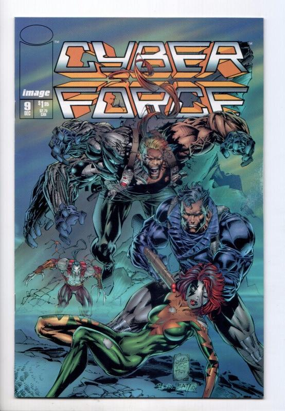 Cyber Force #9 - (Image, 1994) - VF/NM